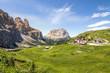 Quadro Passo Gardena Groden Pass Mountains South Tyrol Dolomites Italy