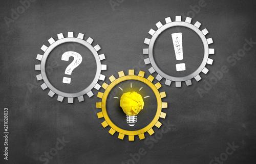 Frage / Problem  mit Idee zur Lösung / Antwort