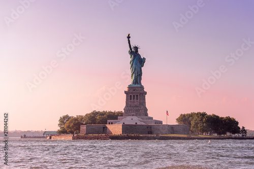 Fotobehang New York Statue of Liberty, New York, NY, United States of Americs