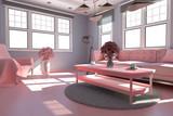 3D Wohnzimmer