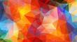 Multicolor color geometric triangle wallpaper
