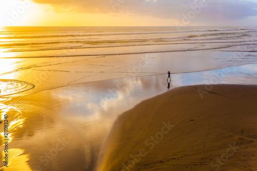 Foto Murales The beach near Auckland