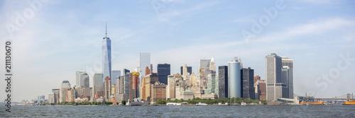 Panoramic view of New York City skyline, New York City, USA - 211130670