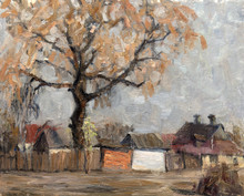 "Постер, картина, фотообои ""Oil painting, handmade"""