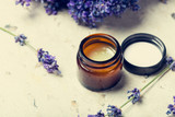 natural facial cream with lavender - 211149463
