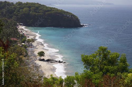 Fotobehang Bali Tropical beach on Bali island,Indonesia