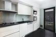 Interior de casa cozinha Moderna