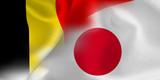 ベルギー 日本  国旗 サッカー - 211187004