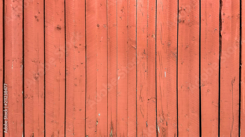 rote Holzwand - 211238477