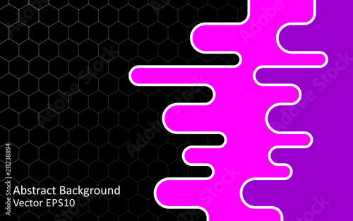 Aluminium Abstractie Art Abstract vector background, template design