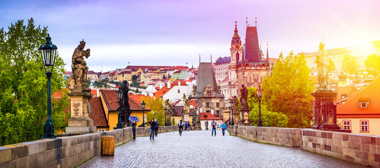 Prague is the capital of the Czech Republic, the European state. Historical sights. © seqoya