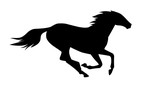 vector illustration of running horse. - 211253266