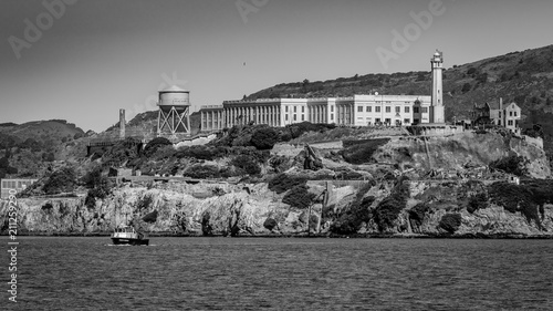Alcatraz in Monochrome