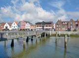 im Binnenhafen von Husum in Nordfriesland,Schleswig-Holstein,Deutschland - 211261299