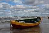 Fishing boat on the beach of Debki