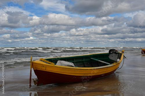 Fishing boat on the beach of Debki - 211300090