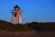Stanhope lighthouse at sunset