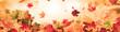Leinwanddruck Bild - autumn background