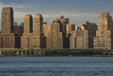 JUNE 6, 2018 - NY, New York, USA - Condos and Apartment buildings on the Hudson River, Upper west side - 211339610
