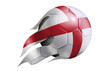 Flying Soccer Ball with England Flag