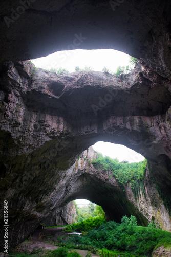 Devetashka cave in Bulgaria, near Lovech. Natural attractions Bulgaria