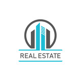 Circle City Building Real Estate Symbol - 211365832