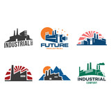 Factory Industrial Company Isolated Symbol - 211366062