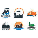 Factory Industrial Company Isolated Symbol - 211366083