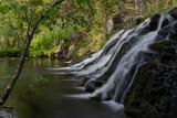 Liejeen putoukset waterfall in Puolanka, Finland.