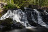 Liejeen putoukset waterfall in Puolanka, Finland
