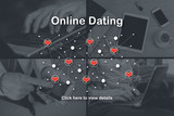 Concept of online dating - 211378677