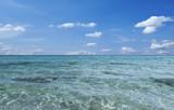 Kristallklares Wasser Mittelmeer Spanien Menorca Son Bou - 211384291