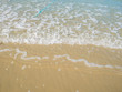 Beautiful Sea and sand on the beach in vacation time,Summer concept - 211398813