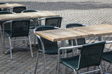 Cafe Table and Chairs, Copenhagen - 211405830
