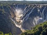 The beautiful Ruacana falls on the border of Namibia and Botswana.