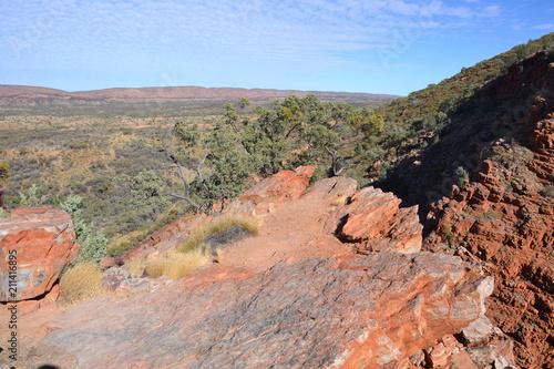 Fotobehang Zalm Australia Serpentine Gorge