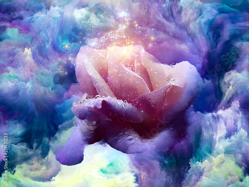 Plakat Flower in Color