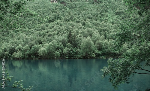 Plexiglas Khaki Бадукские озера