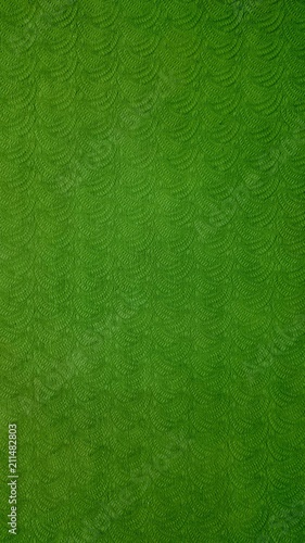 Green yoga mat texture - 211482803