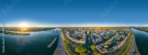 Luftaufnahme Mainz am Rhein 360° VR Panorama - 211498282