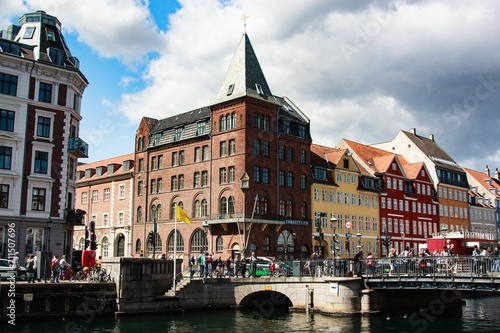 Denmark. Copenhagen. Nyhavn. Seamans Church © Natalia