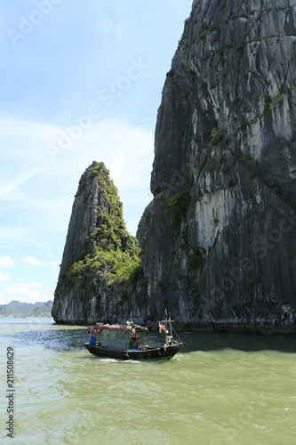 Aluminium Tropical strand Baie d'Along au Vietnam