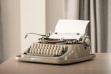 Retro style typewriter in studio - 211512254