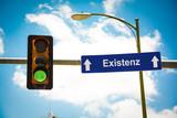 Schild 291 - Existenz - 211543498