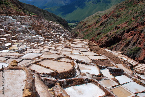 Aluminium Cappuccino Scenery i the Urubamba Valley