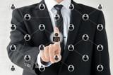ビジネスイメージ―ソーシャルネットワークの活用 - 211566635