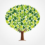 Green leaf tree concept for nature help - 211576671