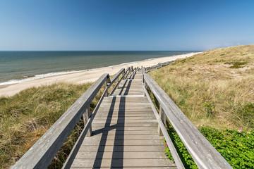 Steg Küste Meer Dünen