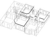House Plan Architect Blueprint - isolated - 211583809