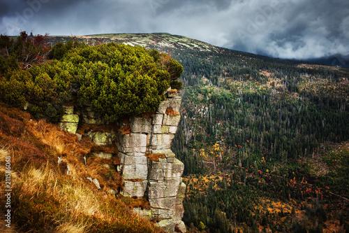 Krkonose Mountains Landscape in Czechia - 211586068